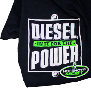 DIESEL in it for the POWER